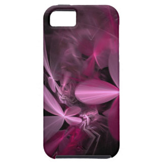 Metallic Pink flower Petals iPhone 5 Case