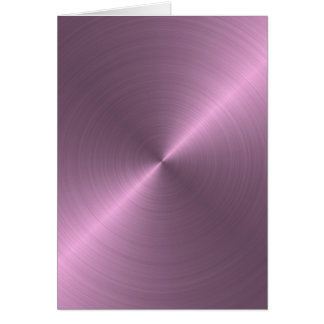 Metallic Purple Card