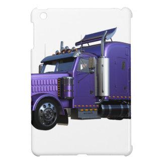 Metallic Purple Semi Tractor Trailer Truck Case For The iPad Mini