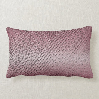 metallic purple texture lumbar cushion
