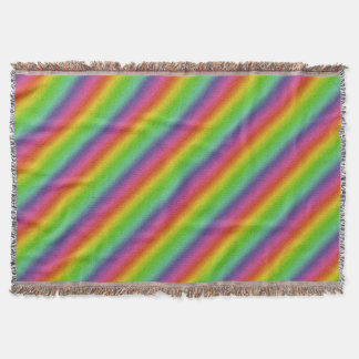 metallic rainbow glitter texture throw blanket