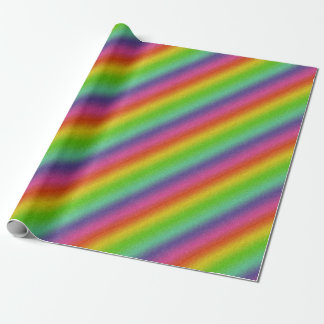 metallic rainbow glitter texture wrapping paper