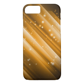 Metallic Ray Golden iPhone 8/7 Case