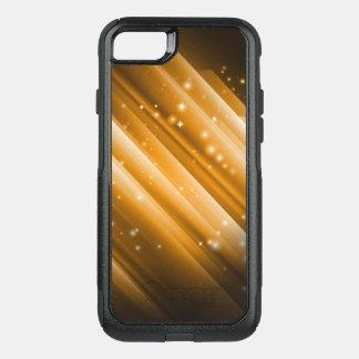 Metallic Ray Golden OtterBox Commuter iPhone 8/7 Case