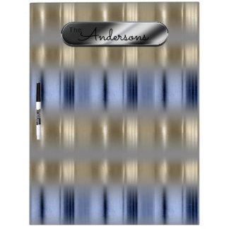 Metallic Reflections and Nameplate ID287 Dry Erase Board