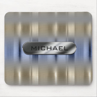 Metallic Reflections and Nameplate ID287 Mouse Pad