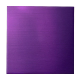Metallic Royal Purple Ceramic Tile