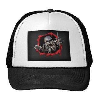 Metallic Skeleton Cap