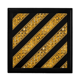 Metallic Snake Stripes Gift Box