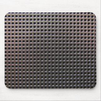 Metallic Steel Grid Pattern ~ mousepad