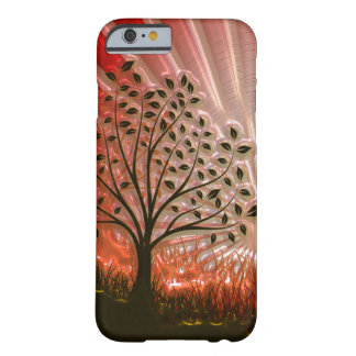 Metallic Sunset Tree In The Sun Barely There iPhone 6 Case