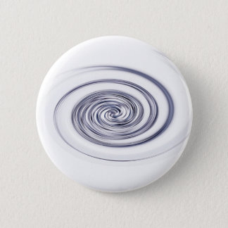 metallic swirl 6 cm round badge