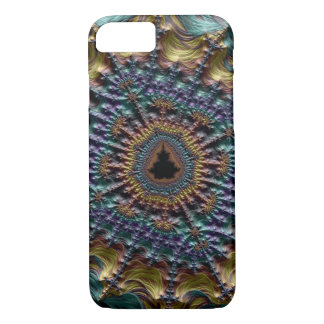 Metallic Threads Fractal iPhone 8/7 Case