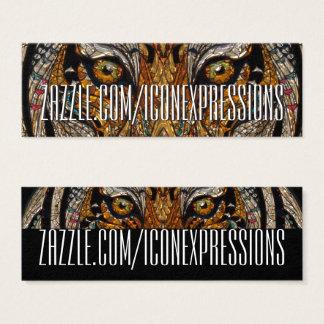 Metallic Tiger Eyes Business Cards