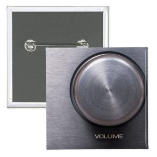 Metallic Volume Knob Button
