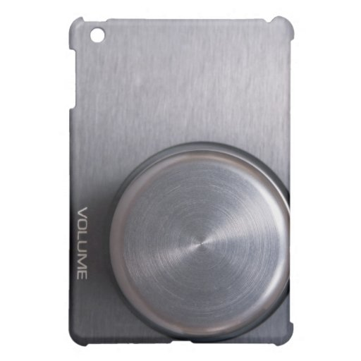 Metallic Volume Knob iPad Mini Cover