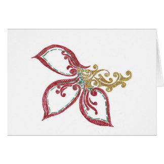 MetallicDoodle Card