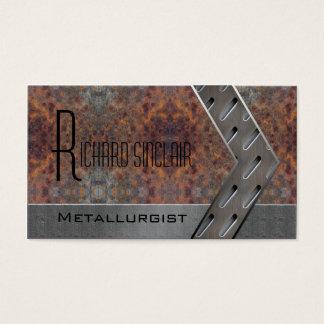 Metallurgy Style1 Business Card