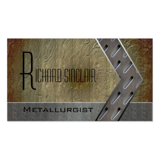 Metallurgy Style3 Pack Of Standard Business Cards