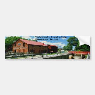 Metamora Indiana Feed Mill Bumper Sticker