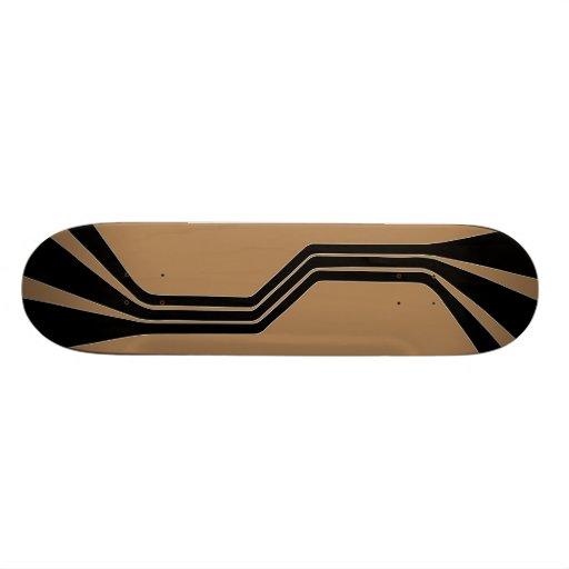 Metaphase (Tan) Skateboard Deck