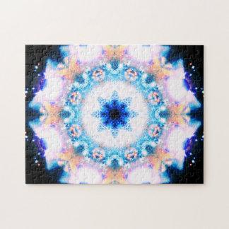 Metaphysical Flower | Relaxation Mandala Jigsaw Puzzle