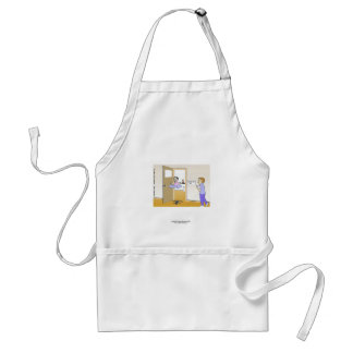 Metaphysics Lab Classic Cartoon Funny Apron Apron