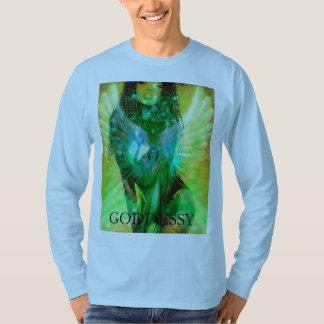 Metatron Goddess Archangel Shirt by Playboy Model