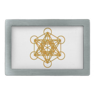 Metatron Gold Glow Belt Buckle