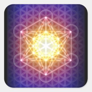 Metatron s Cube Flower of Life Sticker