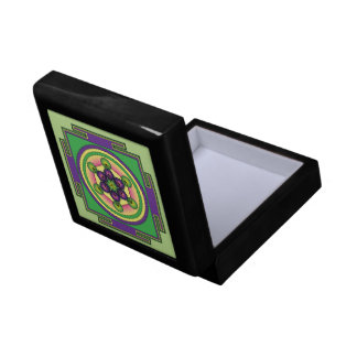 Metatron's Cube Mandala Gift Box