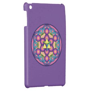 Metatron's Cube Merkaba on Flower of life Case For The iPad Mini