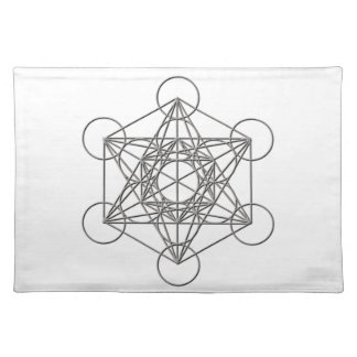 Metatron Silver Shadow Placemat