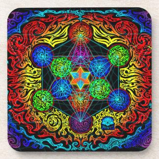 Metatron's Cube Coaster Set of 6