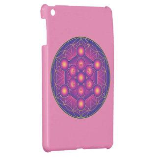 Metatron's Cube in Flower of life iPad Mini Cover