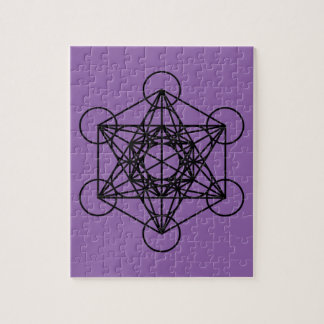 Metatrons Cube Jigsaw Puzzle
