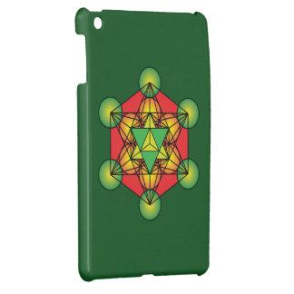 Metatron's Cube Merkaba Cover For The iPad Mini