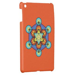 Metatron's Cube Merkaba iPad Mini Cases