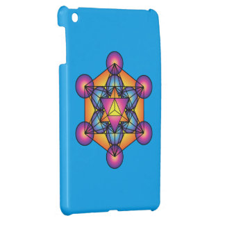 Metatron's Cube Merkaba iPad Mini Cover