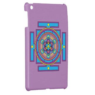 Metatron's Cube Merkaba Mandala iPad Mini Case