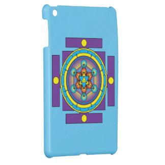 Metatron's Cube Merkaba Mandala iPad Mini Cases