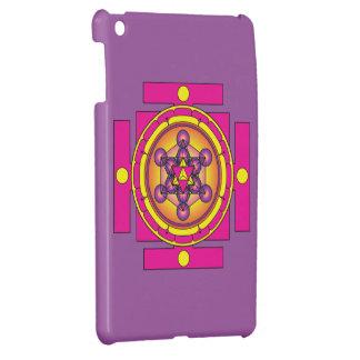 Metatron's Cube Merkaba Mandala iPad Mini Covers