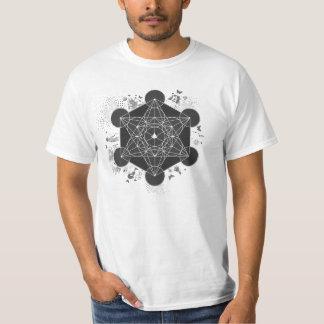 Metatron's Cube Meta-Integration T-Shirt