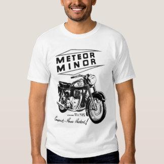 Meteor Minor UK Vintage Motorcycle Ad T Shirts