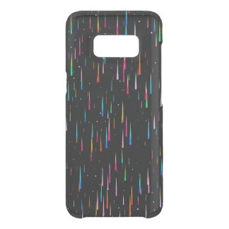 Meteor Rain - galaxy S8 clearly case