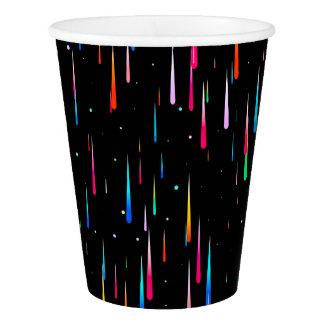 Meteor Rain Paper Cup