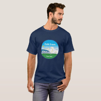 Meteorology cold front -ring blue T-Shirt