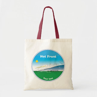Meteorology Hot front Tote Bag