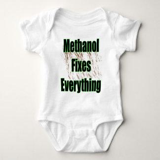 Methanol Fixes Everything 1 Baby Bodysuit