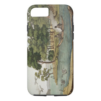 Method of Navigation in New Holland, engraved by F iPhone 7 Case